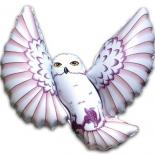 Полярная сова, гелиевый, фольгированный шар