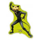 Супер-кот Леди Баг, гелиевый, фольгированный шар